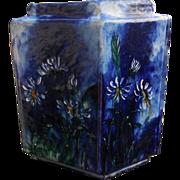 J.T. Wheatly 1880 Vase Signed & Dated Geometric Design
