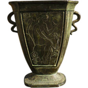 Just Andersen Danish Metal Vase
