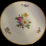Rosenthal Floral Porcelain Cake Plate
