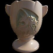 Roseville White Silhouette Vase