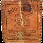 Bug Death Wooden Box