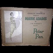Maude Adams in Peter Pan 1907 Playbill