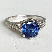 Vintage Diamond Rose Ring