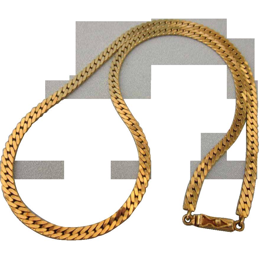 18 1 gram italian 585 14k yellow gold 17 quot herringbone necklace chain