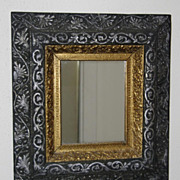 Outstanding Victorian Wood and Gilt Wall Mirror