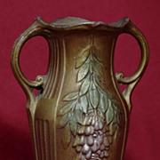 "SOLD Small French Bronze Vase - Wisteria - 4 1/2"""