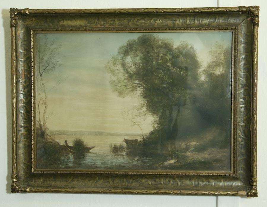 Vintage Jean-Baptiste-Camille Corot Print