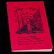 SOLD Bridge of Sighs Booklet by Helen Lyman - 1928