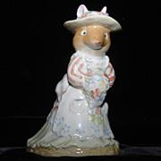 Royal Doulton Poppy Eyebright of Brambly Hedge Mouse Figurine DBH1