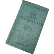 Paris Map and its Suburbs - 1947 - The Blue Guides : Plan de Paris et de sa ...