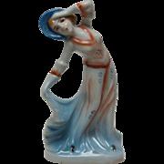 Occupied Japan Art Deco Style Lady Figurine