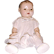 "SOLD Original organdy white dress outfit DyDee Baby for 15"" doll"