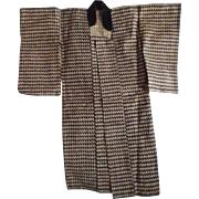 Vintage Japanese Salesman's Sample Miniature Man's Kimono