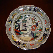 19th C. Mason's Soup Plate ~ ca. 1840 ~