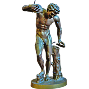 Late 19th C. Bronze Satyr Original Production Casting