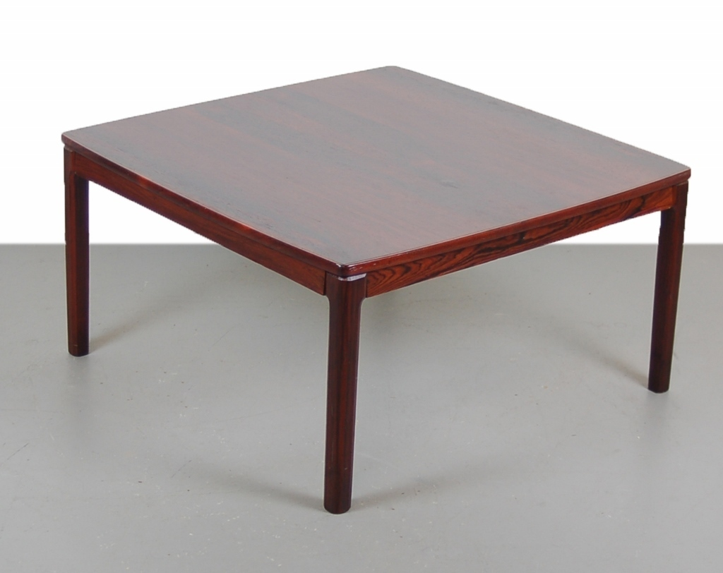 Vintage Rosewood Mid Century Danish Modern Coffee Cocktail Table From Colinreedantiques On Ruby Lane