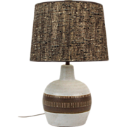Vintage Mid-Century Modern Martz Marshall Studios Pottery Lamp