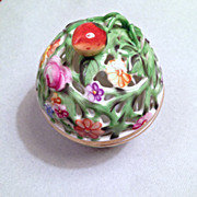 Herend handpainted Potpourri or Candy Dish hallmarked