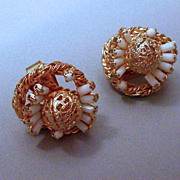 Spectacular Hobe Clip on Earrings