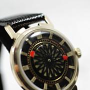 Ernest Borel KALEIDOSCOPE  Automatic Men's Vintage COCKTAIL Watch