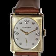 Longines Gold Diamond Men's Vintage Watch
