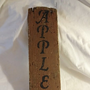 SALE Old Maine Orchard Sign - Apples