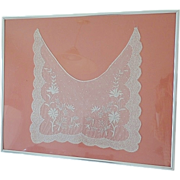 Victorian Tambour Lace Dress Inset