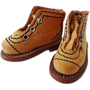 Dolls Leather Boots French