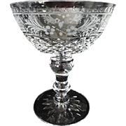 Kosta Boda Elvira Madigan Flat Champagne Glasses