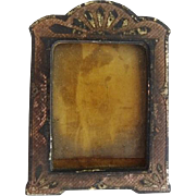 Antique Dollhouse Enamelled Frame Miniature