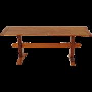 Dollhouse Shaker Trestle Table by Chestnut Hill Studio - Signed