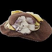 Antique Felt Dolls Hat