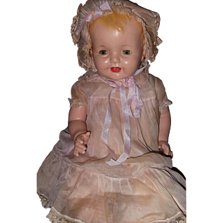 """27"""" Factory Largest Lovums Big Baby Doll by Effanbee"""