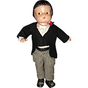 Rare GROOM Patsyette Composition Doll