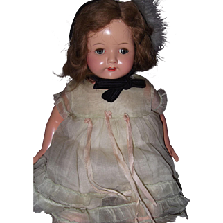 """Large Effanbee Factory Rosemary 23"""" Composition Doll"""