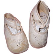 Ideal Leather Shoes for your Large Bisque or Composition Doll