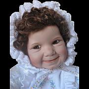 "Ashton Drake ""Baby Miss Muffet"" Porcelain Doll #93704 - NIB - Original Box - Never b"