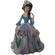 "Vintage Hand-painted Lefton ""Linda"" figurine designed by Marika - 1960's era - signe"