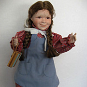 """SOLD """"Laura"""" Ingalls from  """"Little House on the Prairie"""" - by Ashton Drake"""