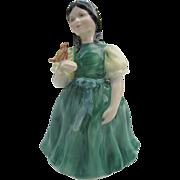 """Royal Doulton porcelain figurine """"Francine"""" HN 2422 tail up - 1971 - signed"""