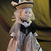 "EFFANBEE  Vintage 11"" Doll Back of Head 1974"