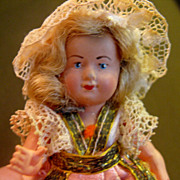 Vintage French Celluloid Doll