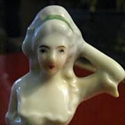 """Madame Pompadour"" Japanese China half doll"