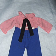 Early Raggedy Andy Factory Made Outfit