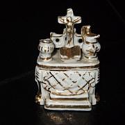 German Conta Boehme  Religious Fairing Box