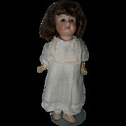 Cabinet Size German Bisque Head Doll