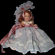 Hard Plastic Nancy Ann Storybook Doll Hit Parade Series