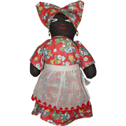 Black Cloth Souvenir Doll