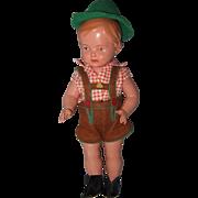German Celluloid Boy Doll