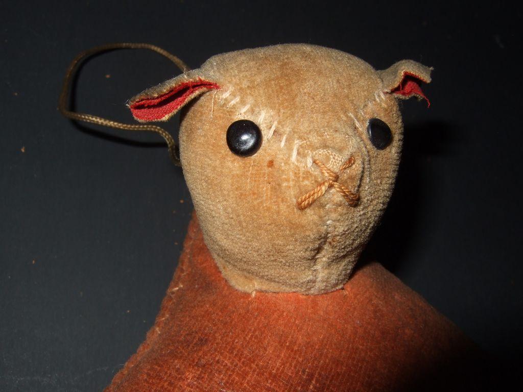 Antique Teddy Bear Pincushion